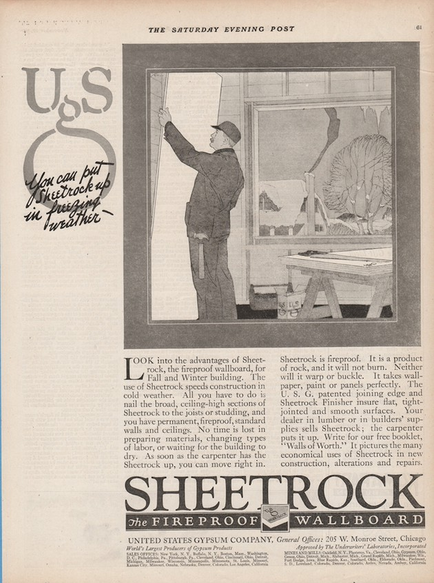 An Exciting History Of Drywall The
