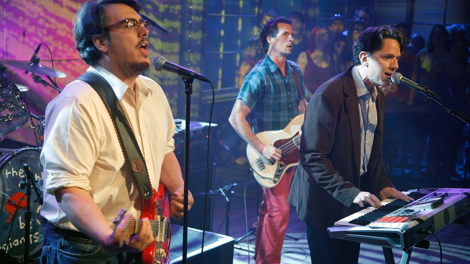 John Flansburgh and John Linnell of They Might Be Giants visit Fuse Studios on July 11, 2011, in New York City
