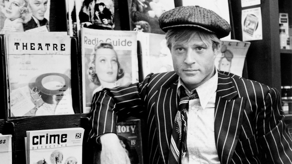 A still from the film 'The Sting,' starring Robert Redford