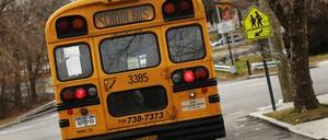 A school bus in Queens.