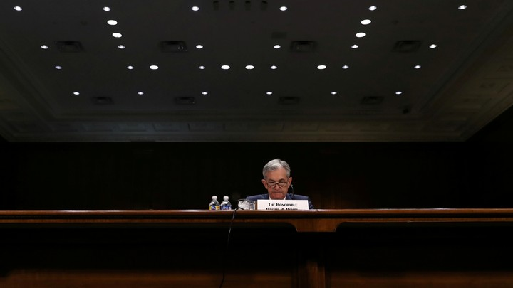 Federal Reserve Chairman Jerome Powell testifies on Capitol Hill on July 11, 2019.
