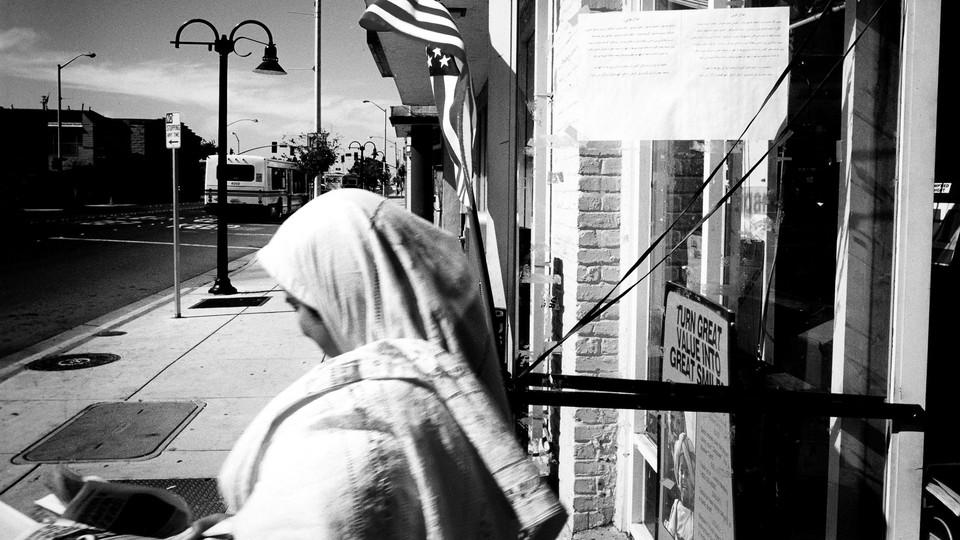 Afghan residents in Fremont, California