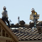 New homes under construction in Las Vegas, where housing prices dove sharply during the foreclosure crisis.