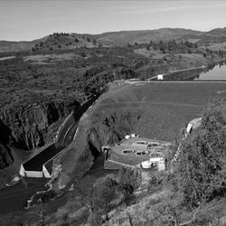 A dam in Oregon's Klamath Basin