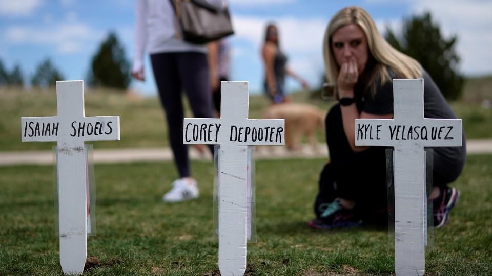 Columbine massacre memorial
