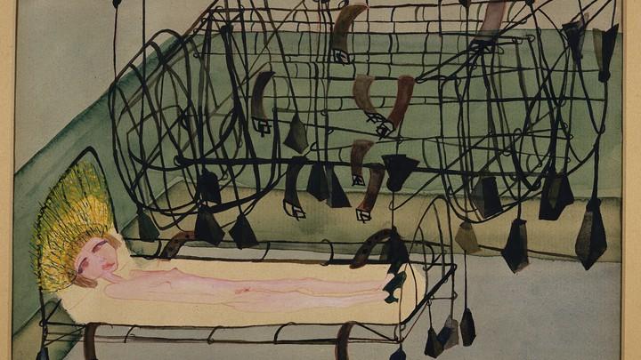 Carol Rama's painting 'Appassionata'