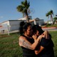 A mother and daughter are reunited following their separation at the U.S.-Mexico border.