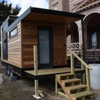 A tiny-house prototype in Baltimore