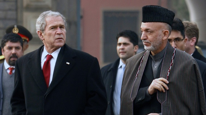 George W. Bush in Afghanistan