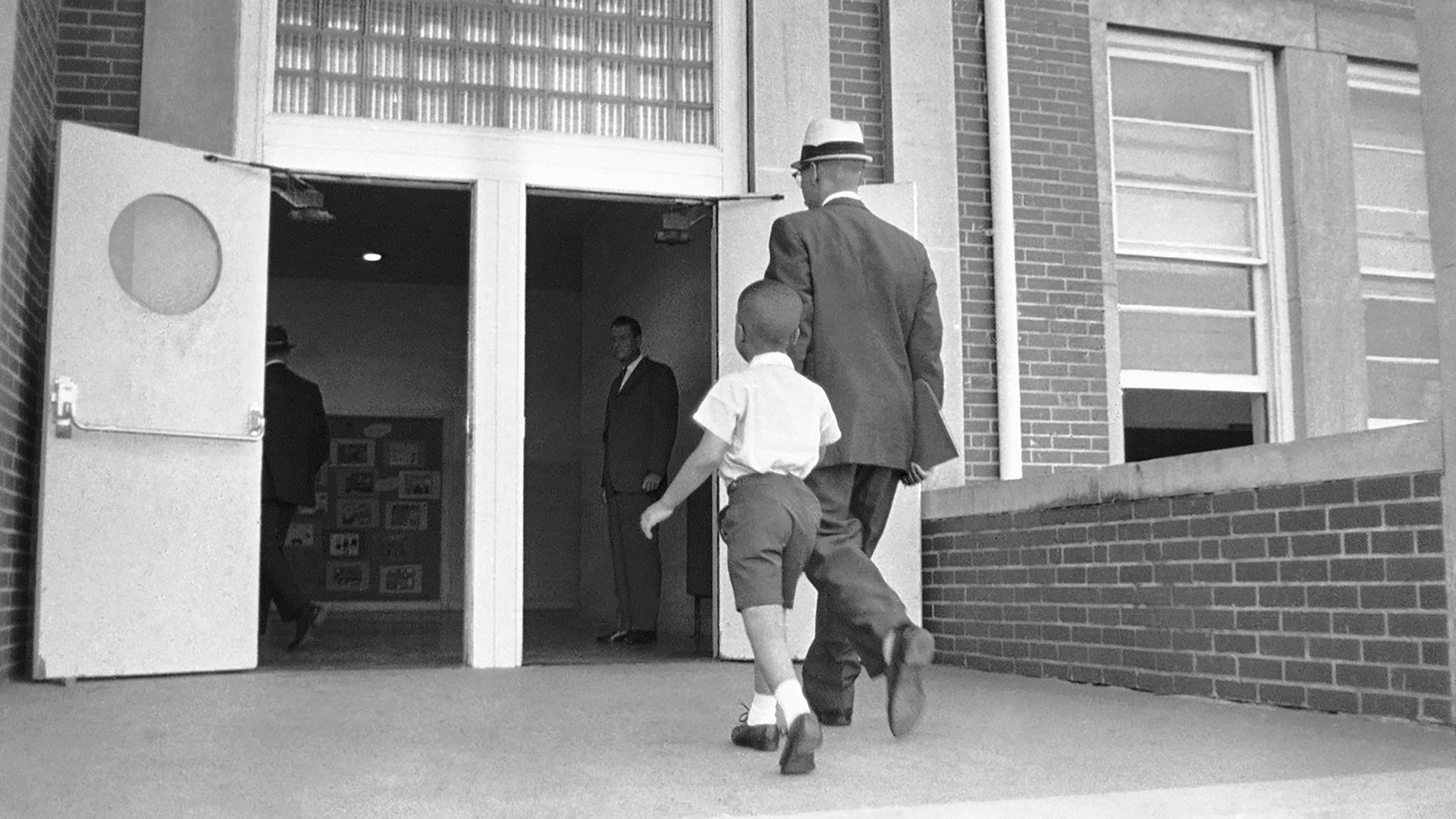Sonnie Hereford and his dad walked into the front doors of Fifth Avenue School on September 3, 1963, when Sonnie was 6.