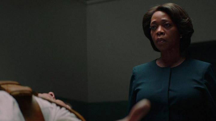 "A still from ""Clemency"" showing Alfre Woodward"