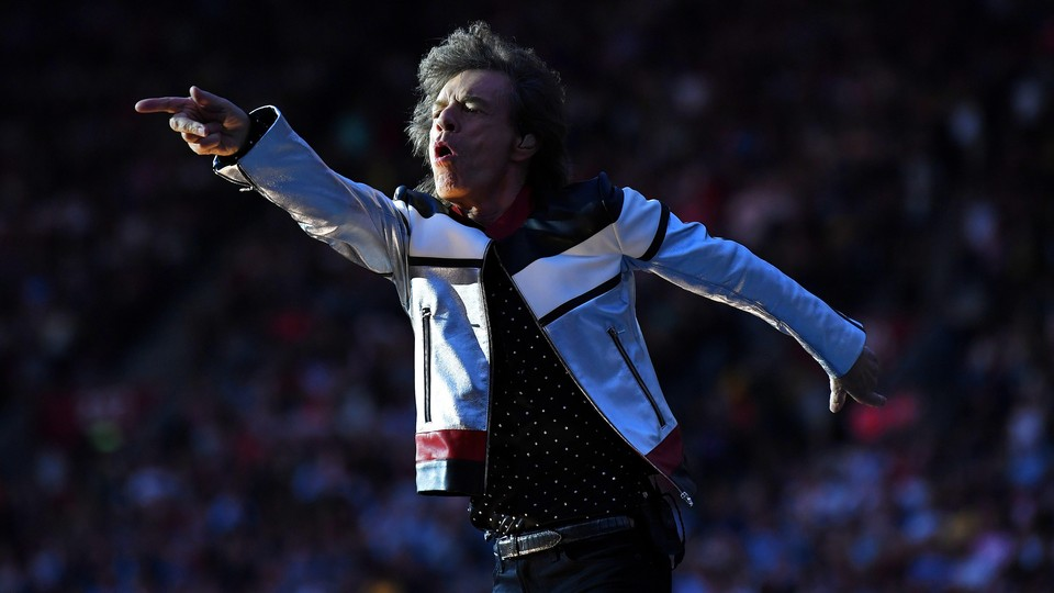 Mick Jagger in 2018