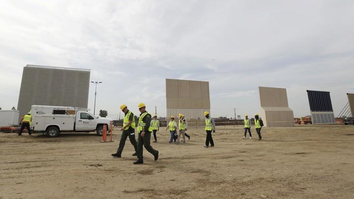 Border-wall prototypes