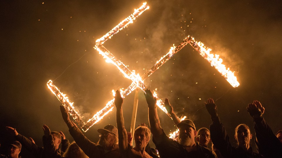 A white-nationalist rally