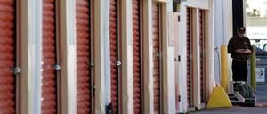 A photo of a self-storage unit.