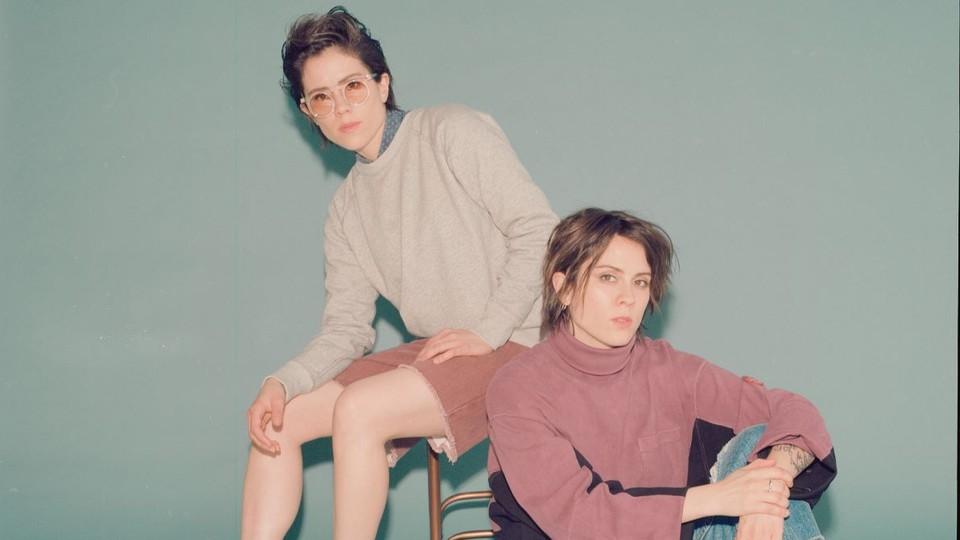 A press image of Tegan and Sara