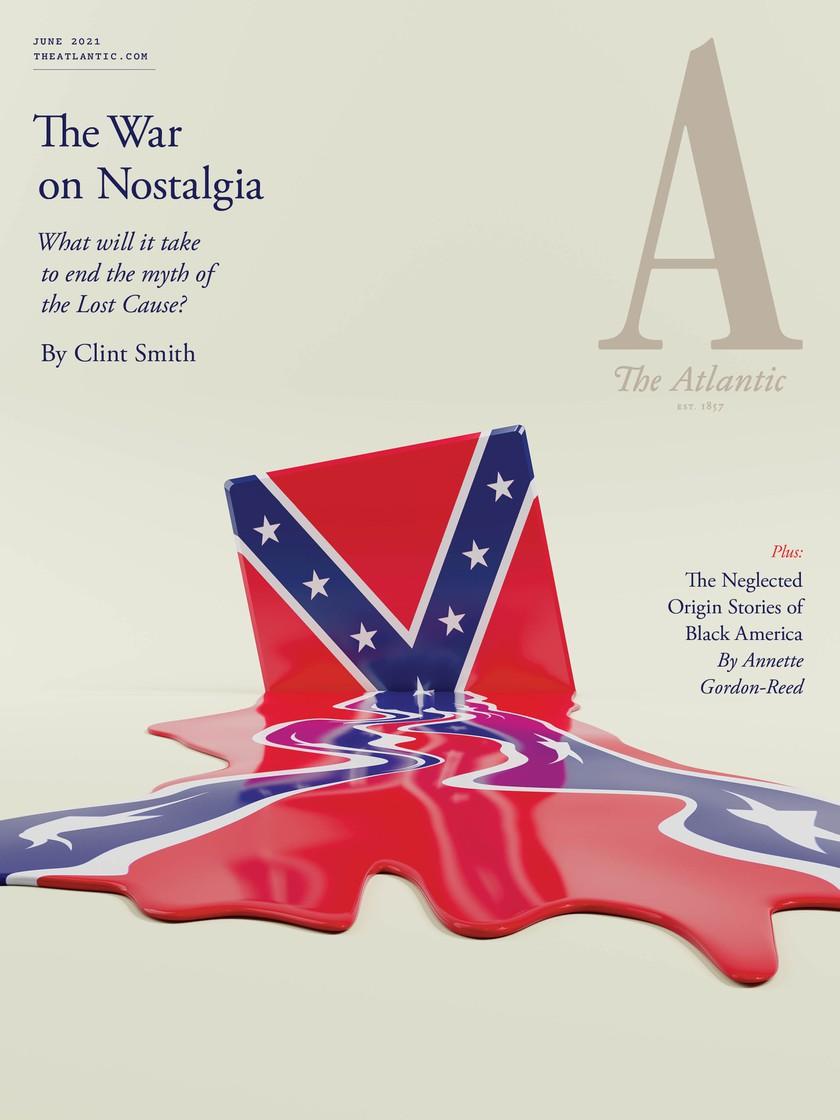 June 2021 Atlantic cover: The War on Nostalgia