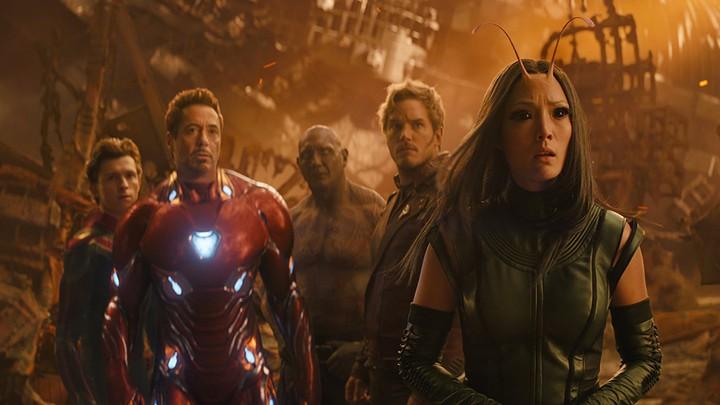 A still from 'Avengers: Infinity War'