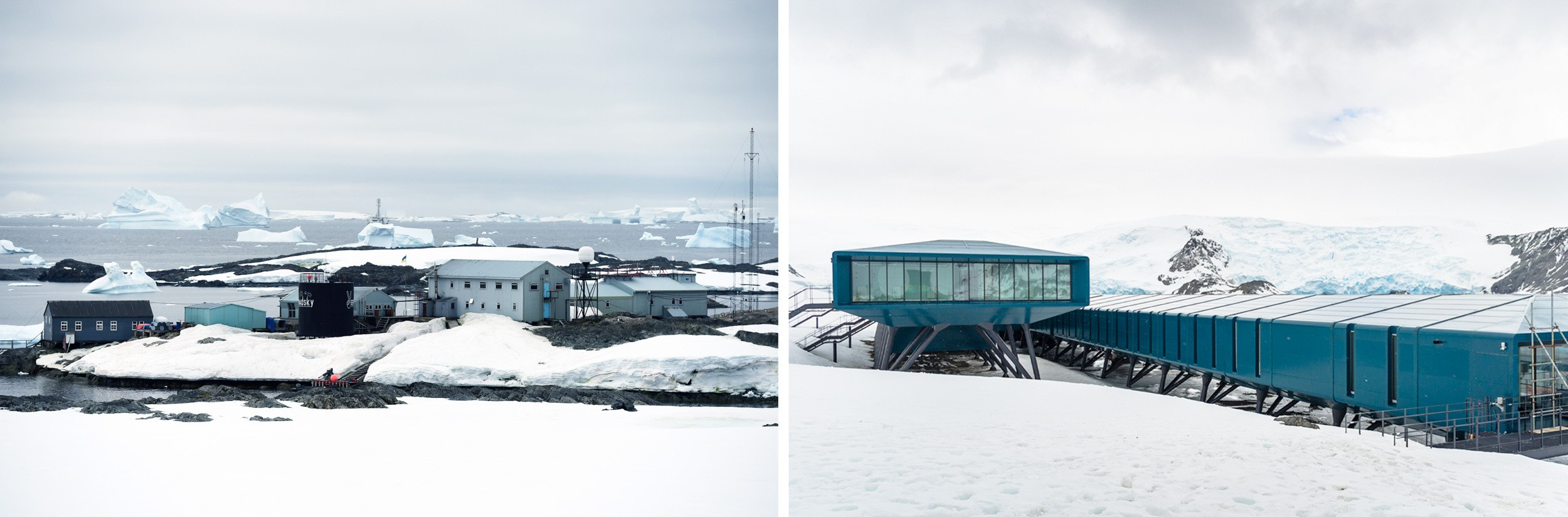 Research stations in Antarctica