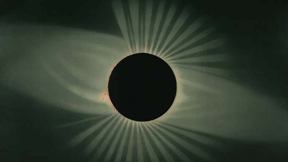 Total eclipse of the sun as observed July 29, 1878, at Creston, Wyoming Territory