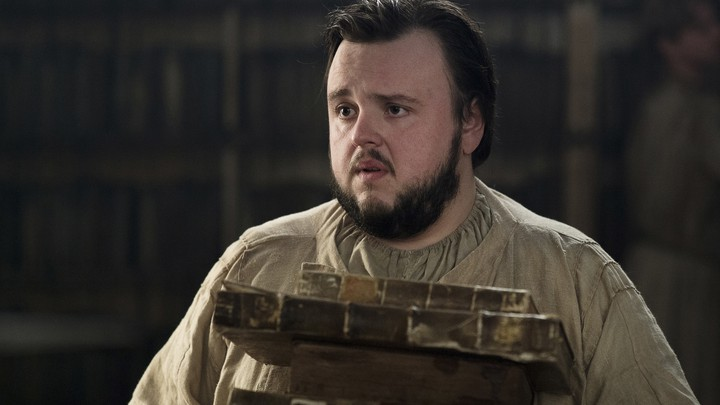 Sam Tarly knows White Walkers are real in 'Game of Thrones.'
