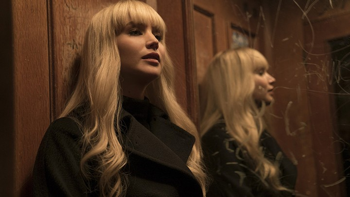 Jennifer Lawrence in a still from 'Red Sparrow'