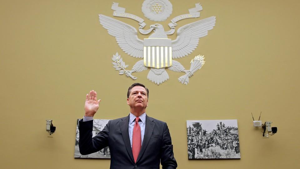 President Trump dismissed FBI Director James Comey on Tuesday.
