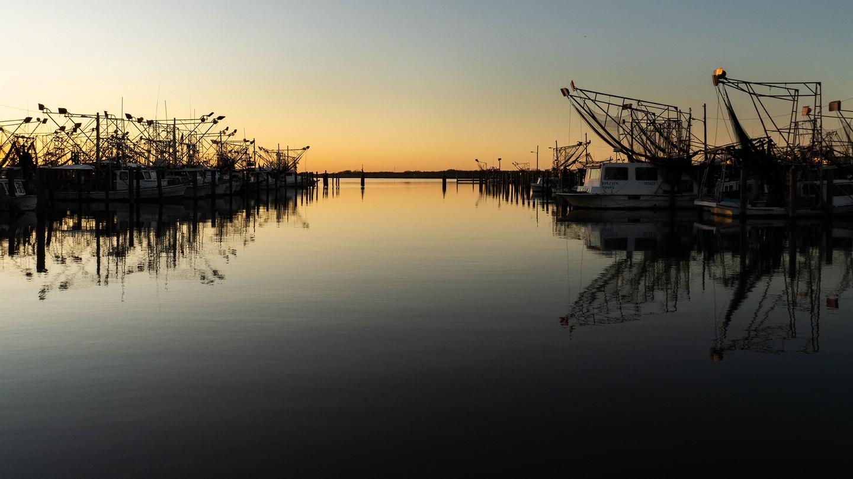 Buras Boat Harbor, in Buras, Louisiana