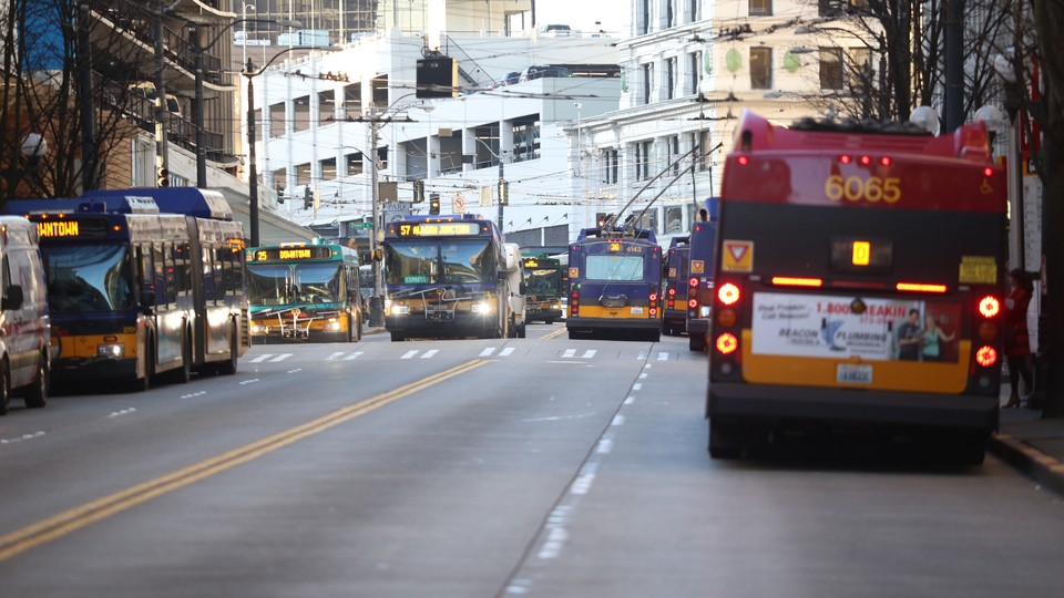 Buses in Seattle