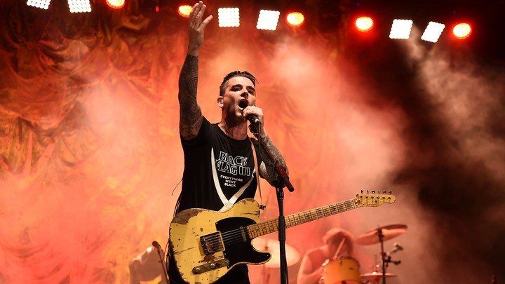 Dashboard Confessional's Chris Carrabba performs in New York City in August 2017