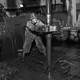 photo of oil-rig crewmember working in North Dakota