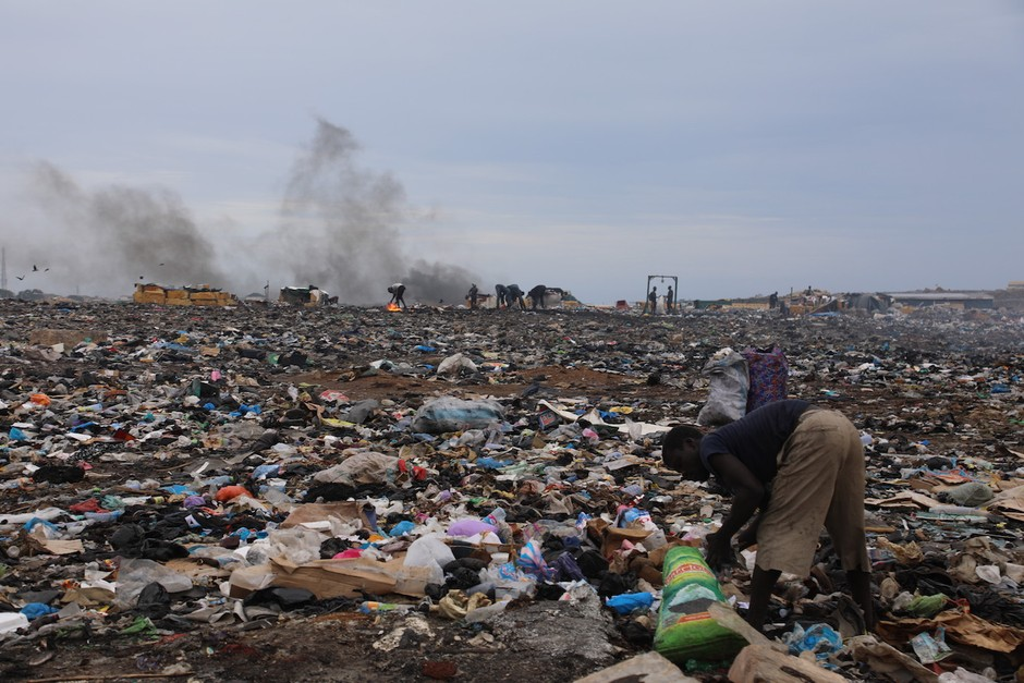 The Rich World's Electronic Waste, Dumped in Ghana - CityLab