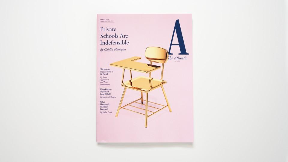 The Atlantic's April 2021 cover