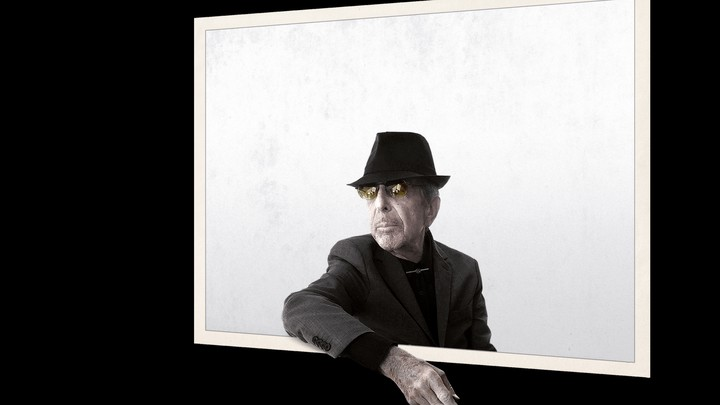 """The cover of Leonard Cohen's """"You Want It Darker"""""""
