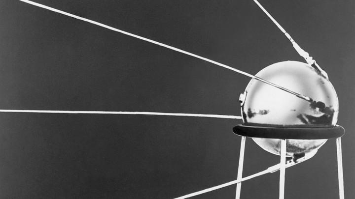 The Sputnik 1 satellite