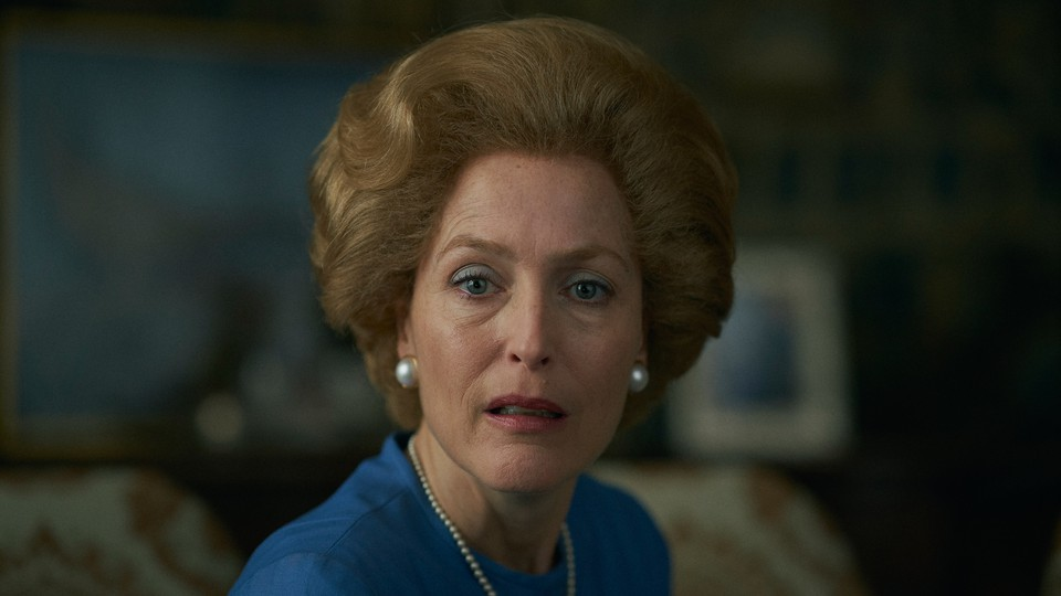 """Picture of Gillian Anderson as Margaret Thatcher in Season 4 of """"The Crown"""""""