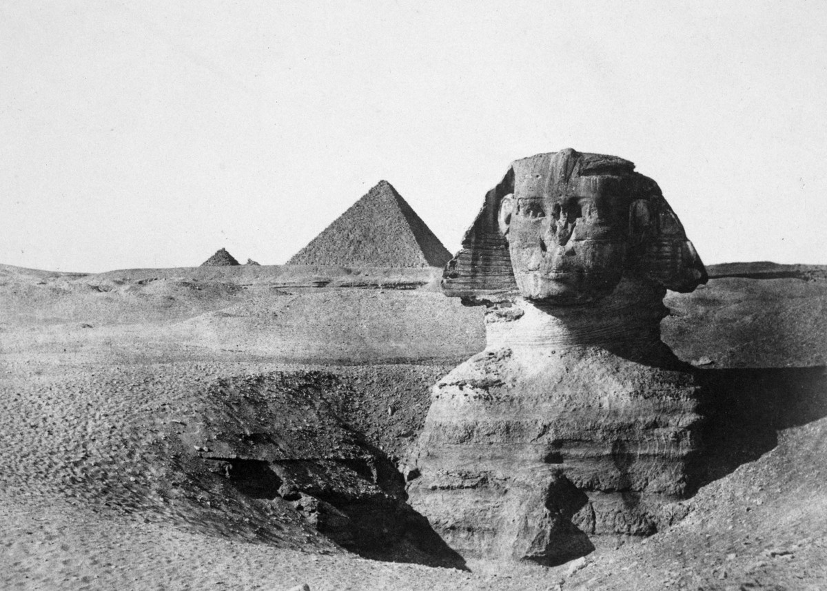 The Great Sphinx of Giza, Through the Years (21 photos)