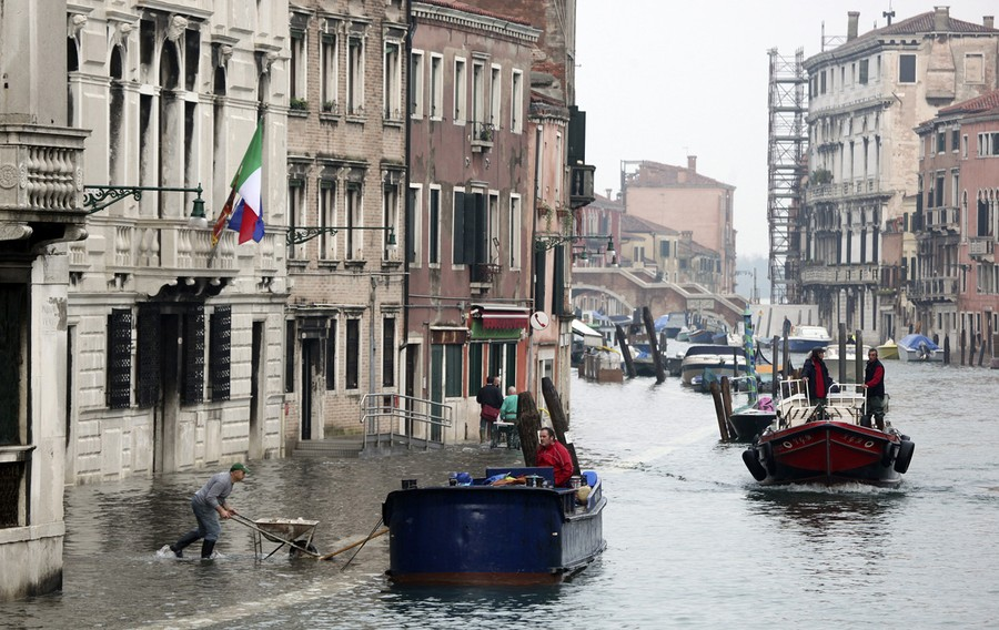 More misery for Venice as historic city braces for THIRD