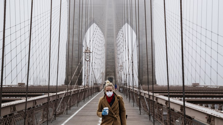 Is The Coronavirus Airborne Should We All Wear Masks The Atlantic