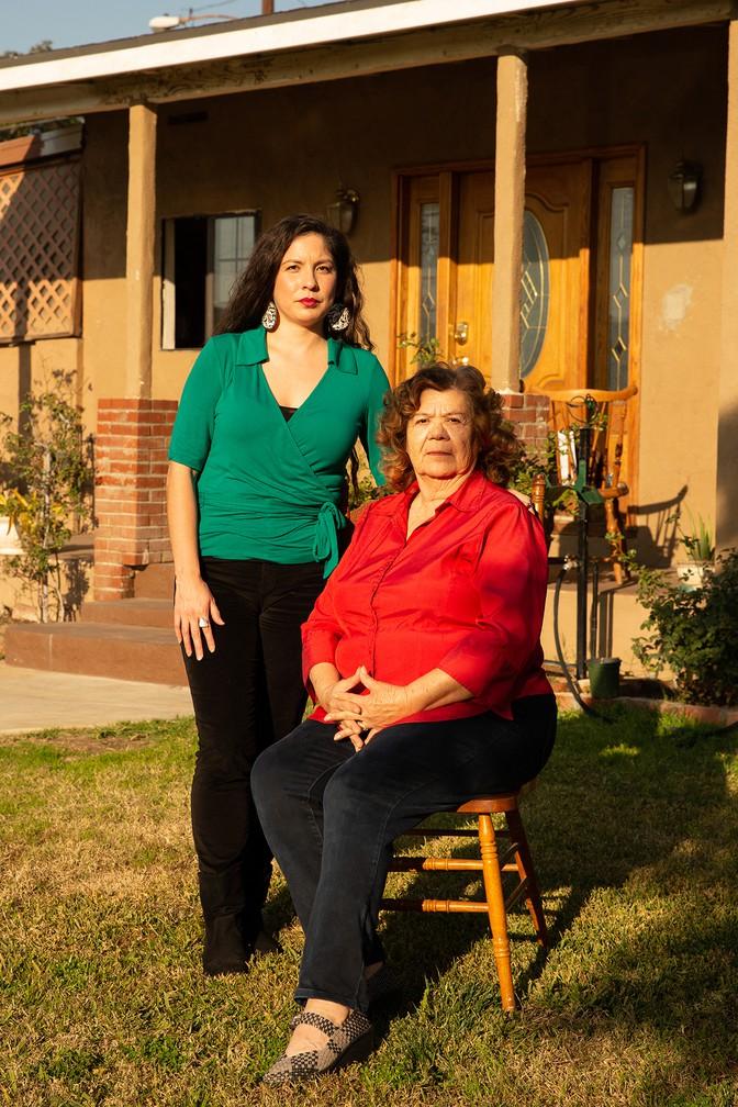 Diana & Antoinetta, cousin and grandmother of Carlos Zuniga