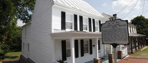 The childhood home of country singer Patsy Cline in Winchester, Virginia, which opened to the public in 2011.
