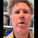 Will Ferrell in the infamous 'Imagine' sing-along.