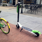 A LimeBike and LimeBike-S are pictured.