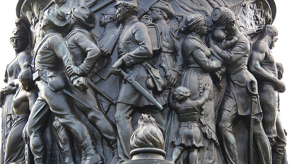 The Confederate Monument at Arlington National Cemetery
