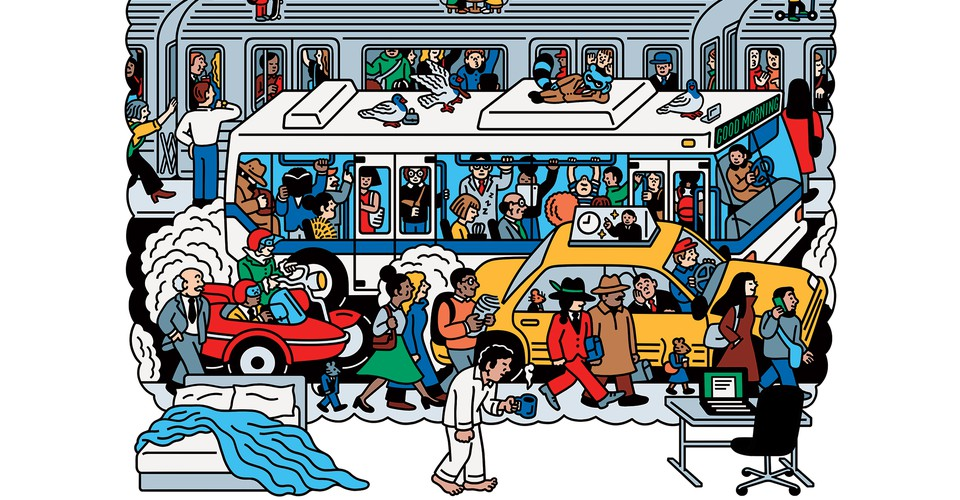 Commuting Was the Worst. So Why Do We Miss It?