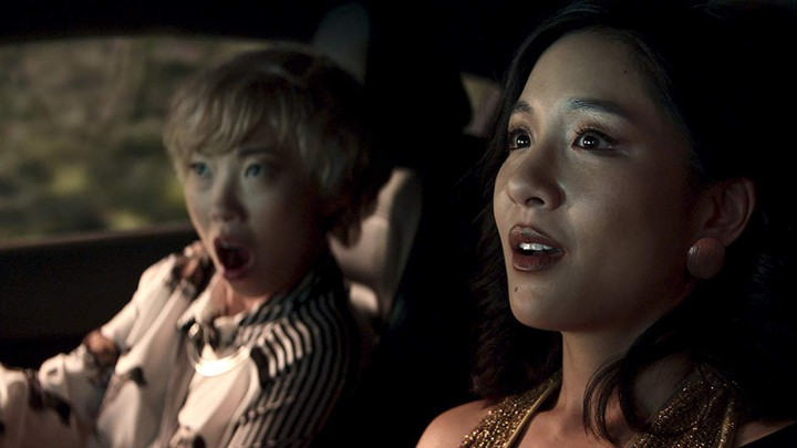 Awkwafina and Constance Wu in 'Crazy Rich Asians'