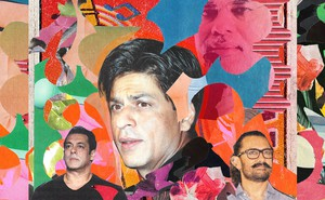 Illustration: A collage of photos of Bollywood stars and Narendra Modi