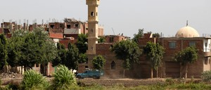 Illegally constructed buildings about 30 miles north of Cairo. The pace of unlicensed building exploded in the security vacuum following the overthrow of Hosni Mubarak.