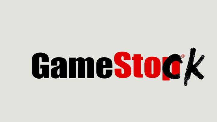 The GameStop logo changed to say GameStock