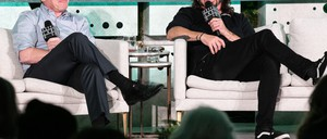 photo: Foo Fighters frontman Dave Grohl speaking at CityLab DC.